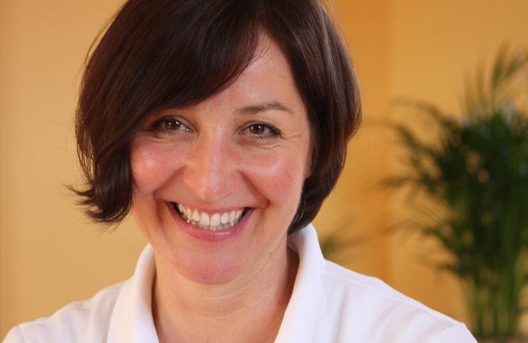 Physiotherapeutin Sybille Hanisch